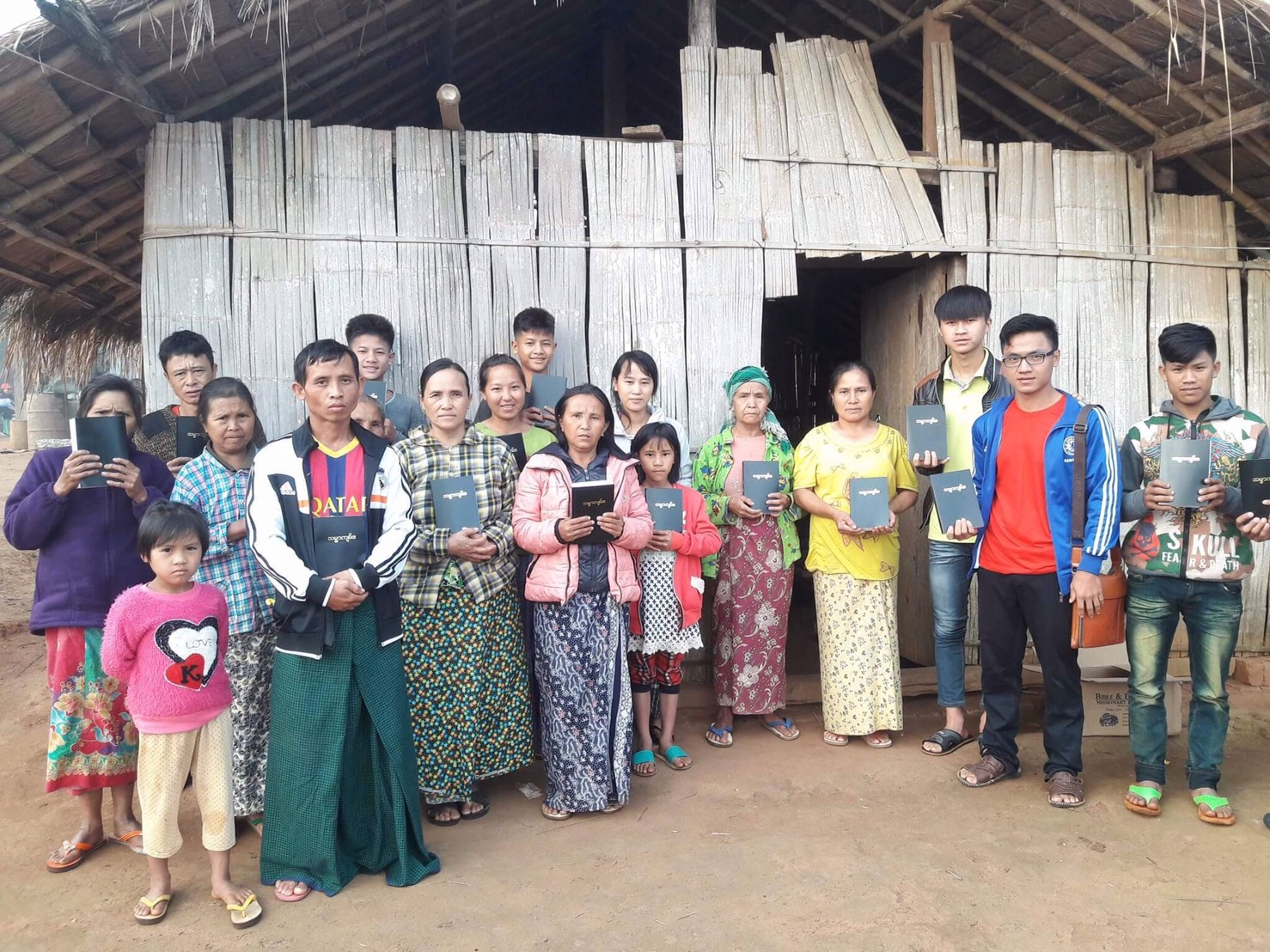 Myanmar Bible Distribution